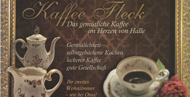 Cafe Kaffee Fleck Das Gemutliche Cafe Im Herzen Von Halle